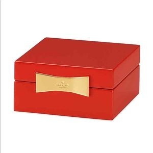 NEW IN BOX kate spade Garden Drive Jewelry Box Red